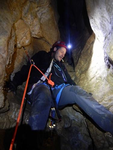 beim klettern