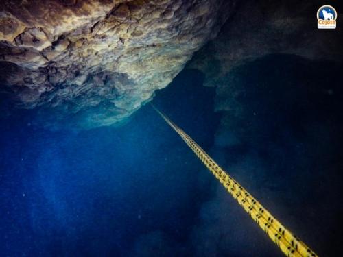 Der vierte Siphon - ab in die Tiefe